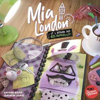 Scorpion Masqué Mia London - et l'affaire des 625 fripouilles! [French]