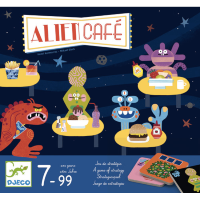 Djeco Alien Café [multilingue]