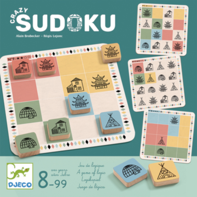 Djeco Crazy Sudoku [multilingue]