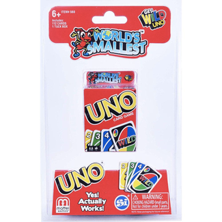 Mattel Games Uno - World's Smallest [Multi]