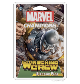 Fantasy Flight Games Marvel Champions - The Card Game (LCG) : Wrecking Crew - Scenario Pack [anglais]