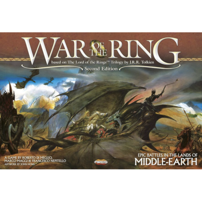 Ares Games War of the Ring (second edition) [English]