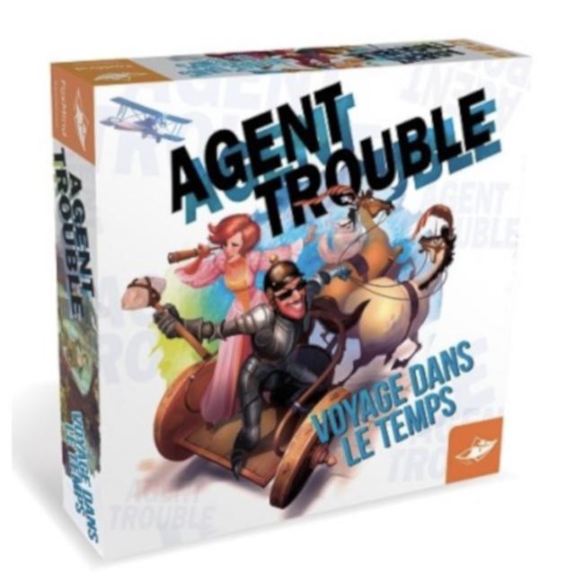 FoxMind Agent Trouble - Voyage dans le temps [French]