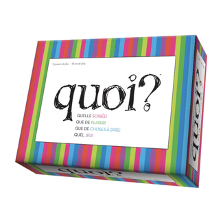 Outset Media Edition Quoi? [French]