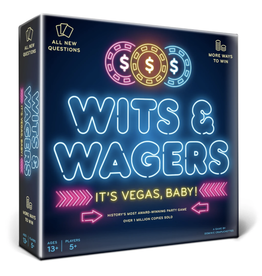 North Star Games Wits and Wagers - It's Vegas, Baby! [anglais]