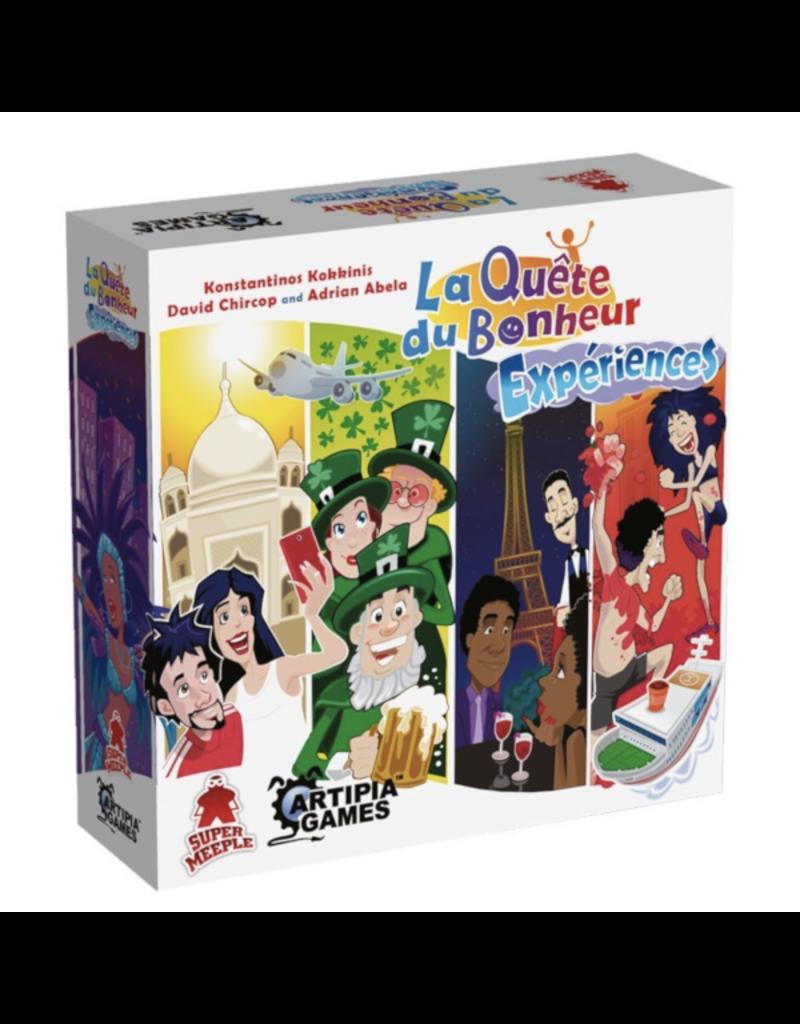 Super Meeple Quête du bonheur (la) : Expériences [français]