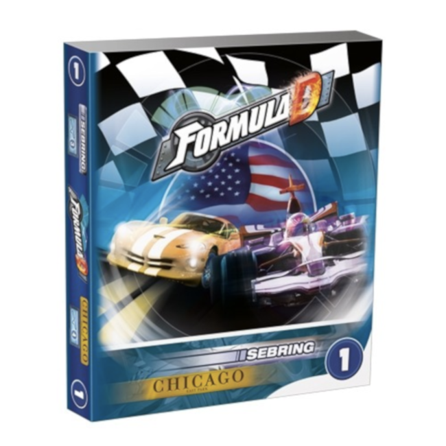 Asmodee Formula D : Circuits 1 - Sebring & Chicago [multilingue]