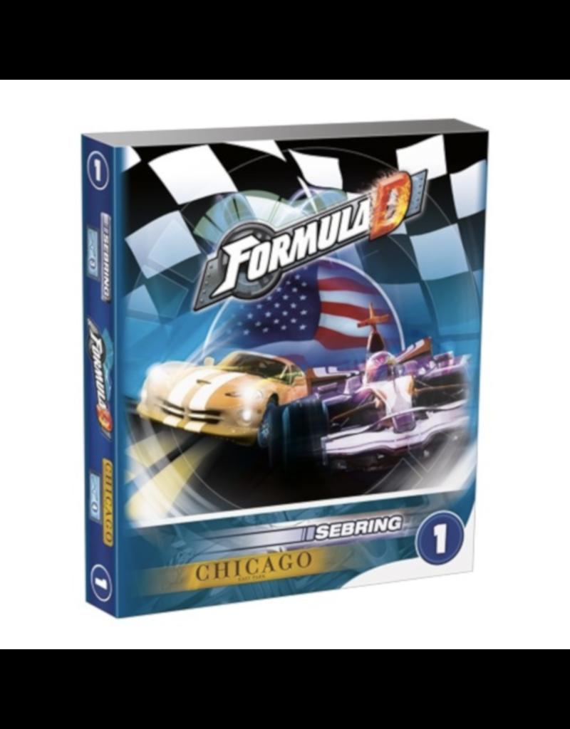 Asmodee Formula D : Circuits 1 - Sebring & Chicago [multilingue]
