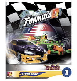 Asmodee Formula D : Circuits 3 - Singapour & the Docks [multilingue]