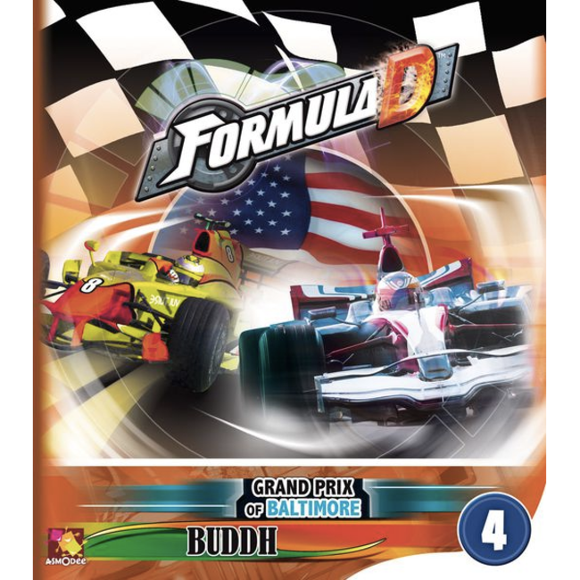 Asmodee Formula D : Circuits 4 - Baltimore & Buddh [Multi]