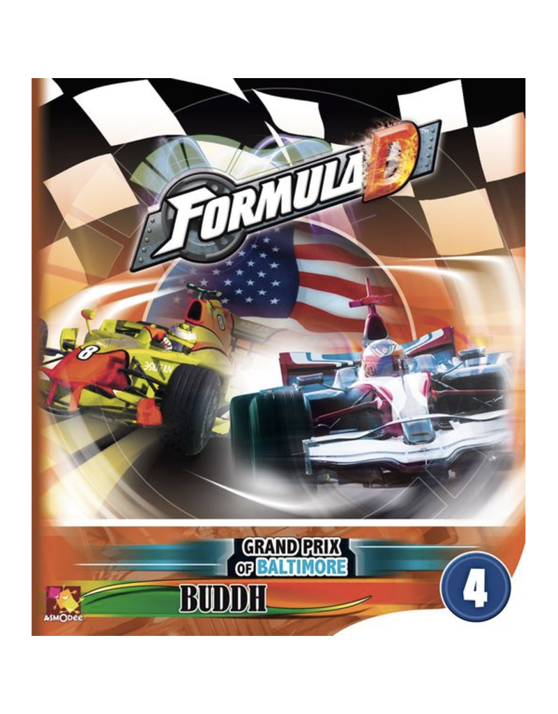 Asmodee Formula D : Circuits 4 - Baltimore & Buddh [multilingue]