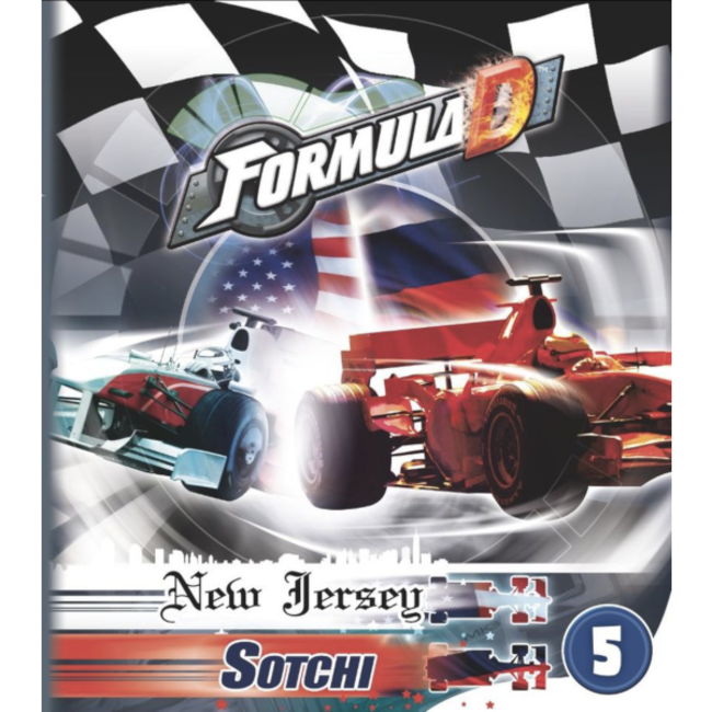 Asmodee Formula D : Circuits 5 - New Jersey & Sotchi [multilingue]