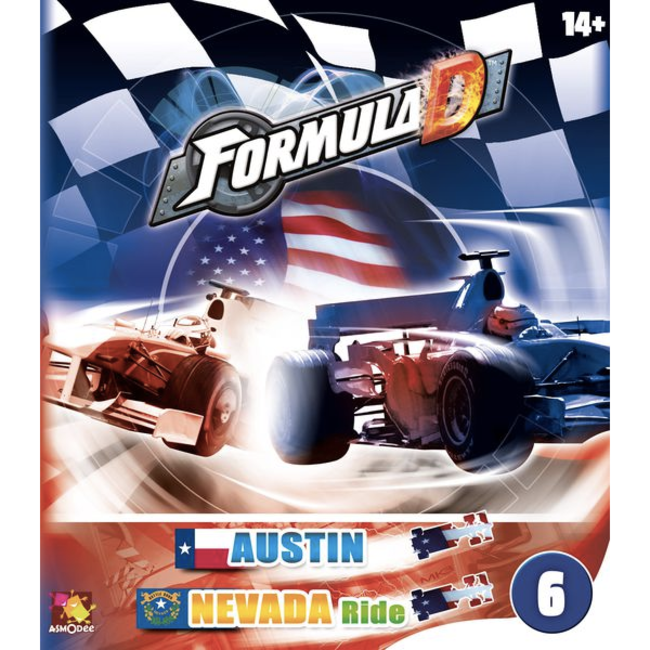 Asmodee Formula D : Circuits 6 - Austin & Nevada Ride [multilingue]