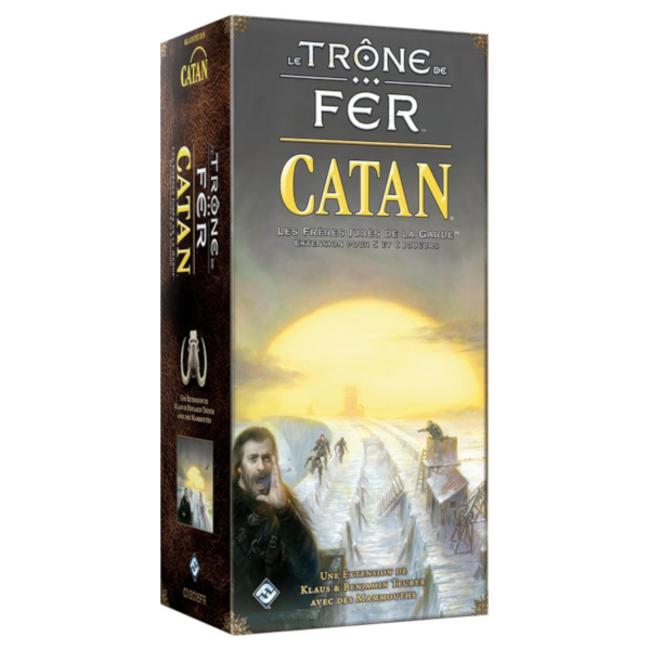 Fantasy Flight Games Catan - Le Trône de Fer : 5-6 joueurs [French]