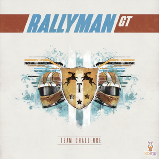 Holy Grail Games Rallyman - GT : Team Challenge [French]