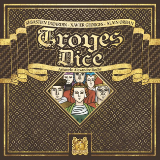 Pearl Games Troyes Dice [French]