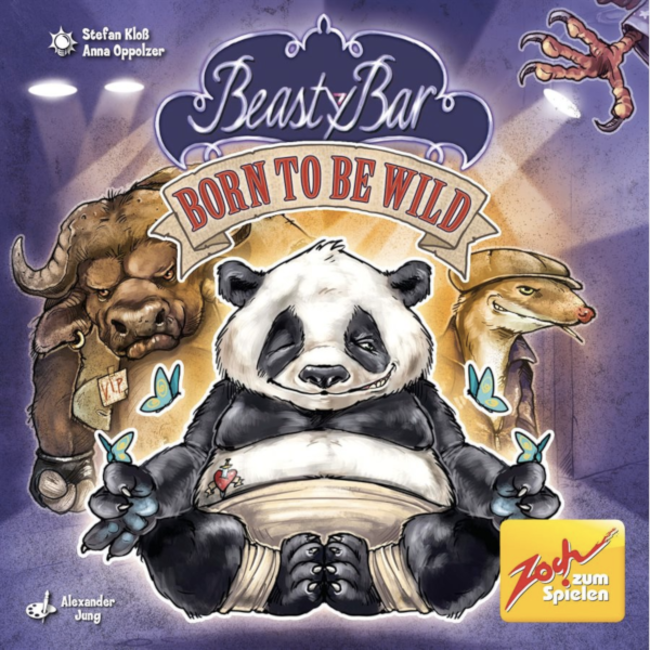 Zoch Zum Spielen Beasty Bar - Born to be Wild [multilingue]