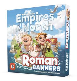 Portal Games Imperial Settlers - Empires of the North : Roman Banners  [anglais]