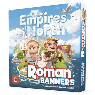 Portal Games Imperial Settlers - Empires of the North : Roman Banners  [English]