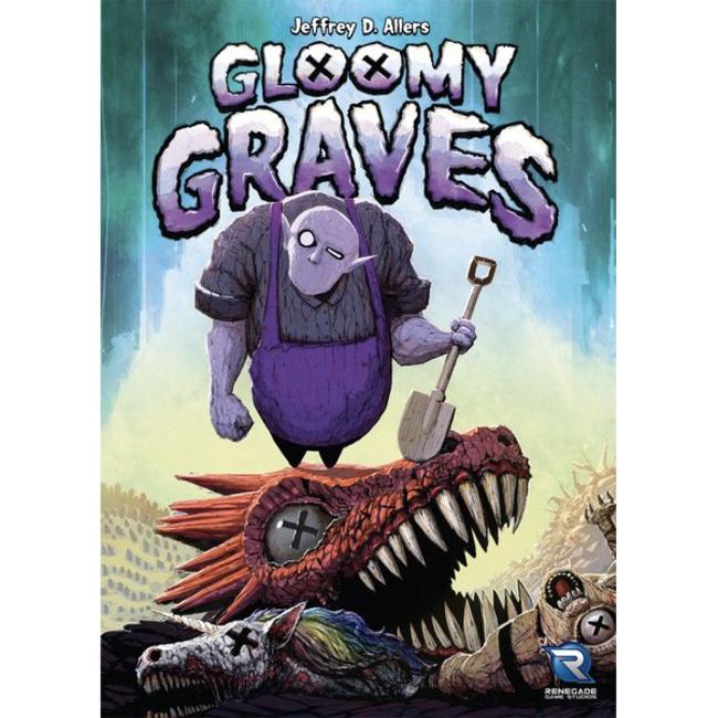Renegade Game Studios Gloomy Graves [anglais]