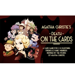 Modiphius Entertainment Agatha Christie's - Death on the Cards [anglais]