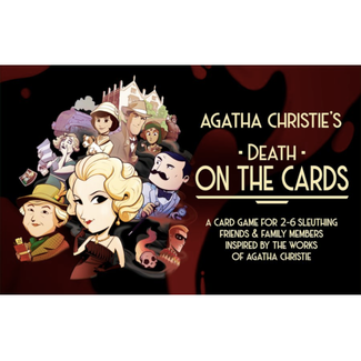 Modiphius Entertainment Agatha Christie's - Death on the Cards [English]