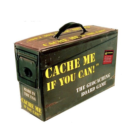 DPH Games Cache Me if you can!  - The Geocaching Board Game (4th edition) [anglais]