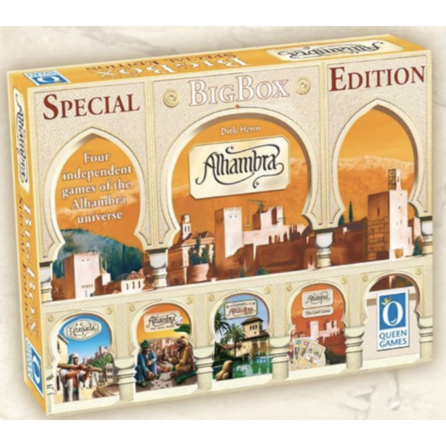 Queen Games Alhambra - Big Box (Special Edition) [Multi]