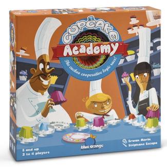 Blue Orange Cupcake Academy [multilingue]