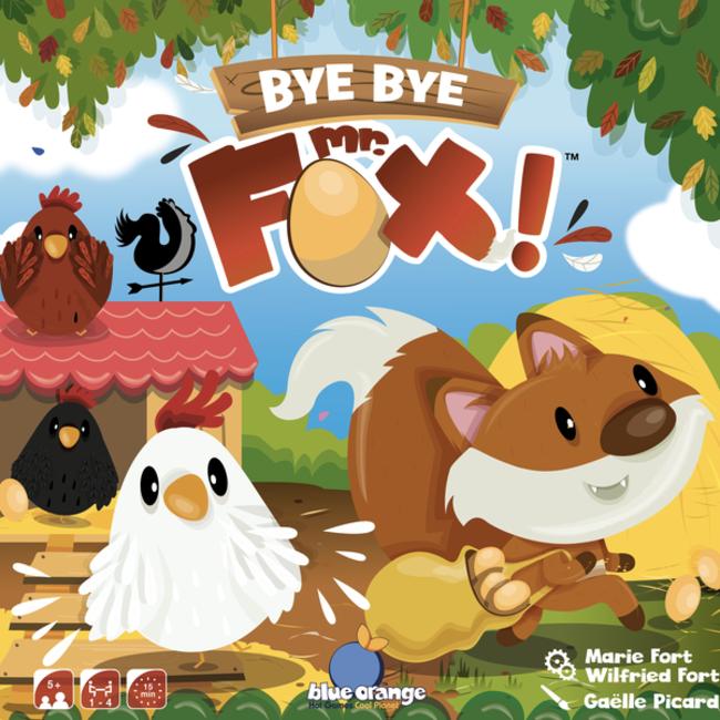 Blue Orange Bye bye Mr. Fox ! [Multi]