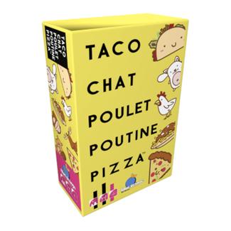 Blue Orange Taco, Chat, Poulet, Poutine, Pizza [French]