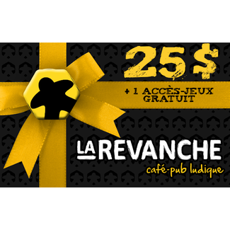 La Revanche 25$ gift card