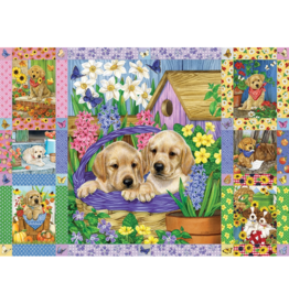 Cobble Hill Puppies and Posies Quilt (1000 pièces)