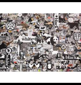 Cobble Hill Black & White: Animals (1000 pièces)