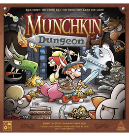 CMON Munchkin - Dungeon [anglais]