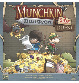 CMON Munchkin - Dungeon : Side Quest [anglais]