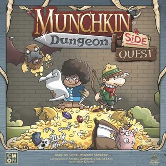 CMON Munchkin - Dungeon : Side Quest [English]