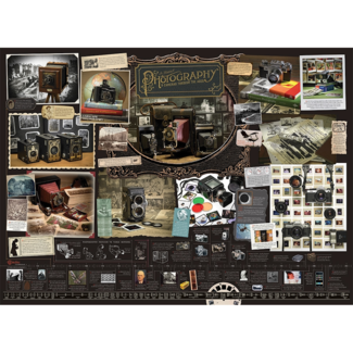 Cobble Hill History of Photography (1000 pieces)
