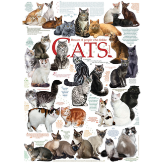 Cobble Hill Cat Quotes (1000 pieces)