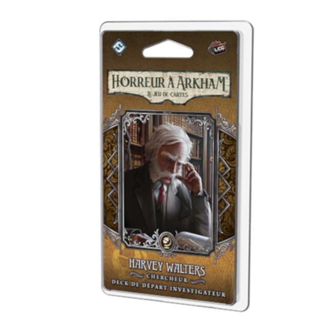 Fantasy Flight Games Horreur à Arkham (JCE) : Deck Investigateur -  Harvey Walters [French]