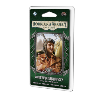 Fantasy Flight Games Horreur à Arkham (JCE) : Deck Investigateur -  Winifred Habbamock [French]
