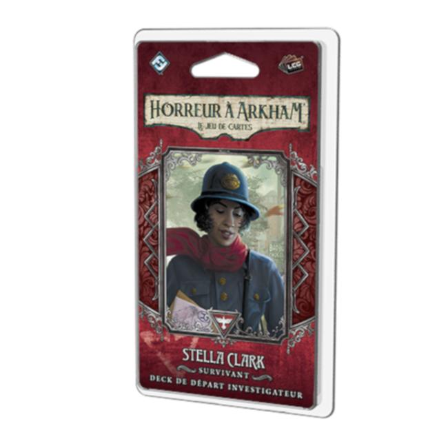Fantasy Flight Games Horreur à Arkham (JCE) : Deck Investigateur -  Stella Clark [French]