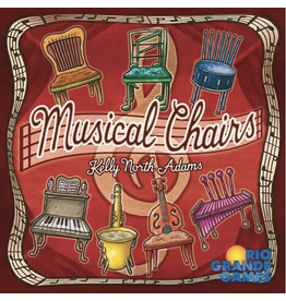 Rio Grande Games Musical Chairs [anglais]