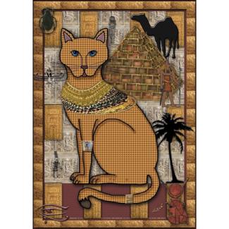 JaCaRou Puzzles Le chat doré (1000 pièces)