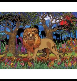 JaCaRou Puzzles Cœur de lion (1000 pièces)
