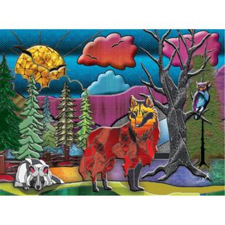 JaCaRou Puzzles Loups (1000 pieces)