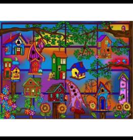 JaCaRou Puzzles Heureux d'un printemps (1000 pièces)