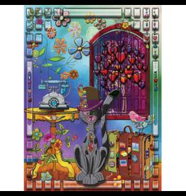 JaCaRou Puzzles Le globe trotteur (1000 pièces)