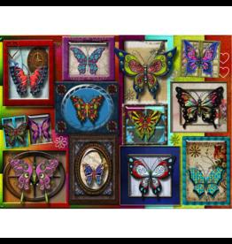 JaCaRou Puzzles Papillons (1000 pièces)