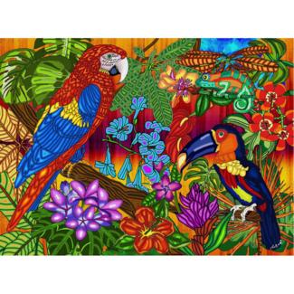 JaCaRou Puzzles Tropiques (1000 pieces)